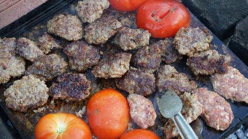 barbecue  meatballs  grill