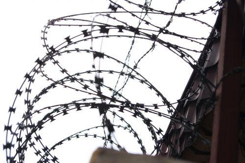 barbed wire military wire prison