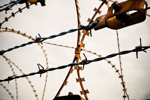 barbed wire natodraht secure