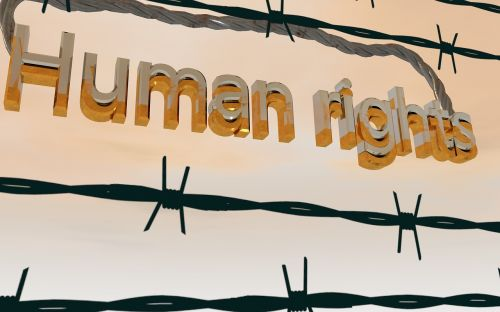 barbed wire human rights equality