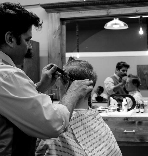 barber haircut hair