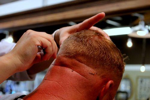 barber razor hair cut