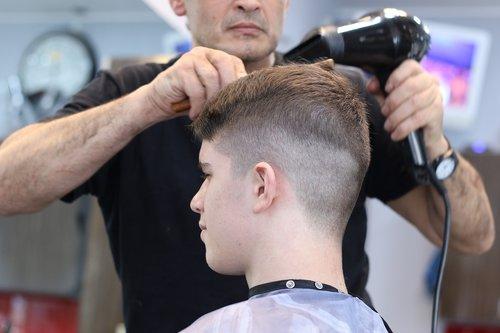 barber  hairdresser  hairstyle