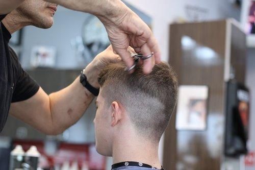 barbershop  haircut  scissors