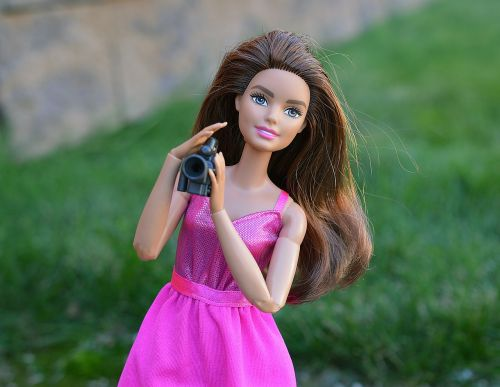barbie doll camera