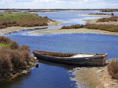barca abandoned marshes