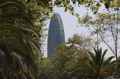 barcelona tower catalonia