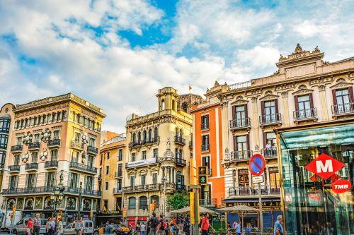 barcelona city urban