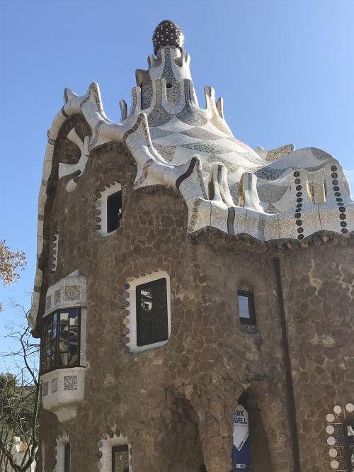 barcelona parc güell gaudi
