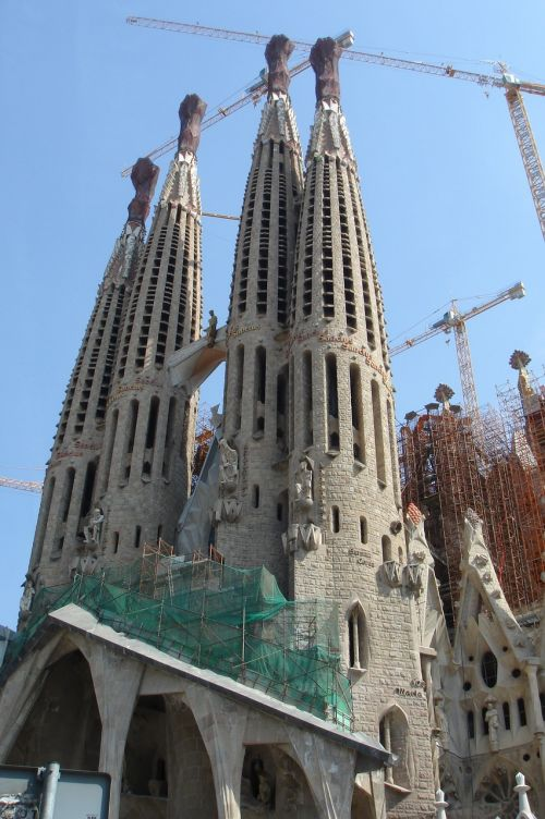 barcelona sagrada de familia church