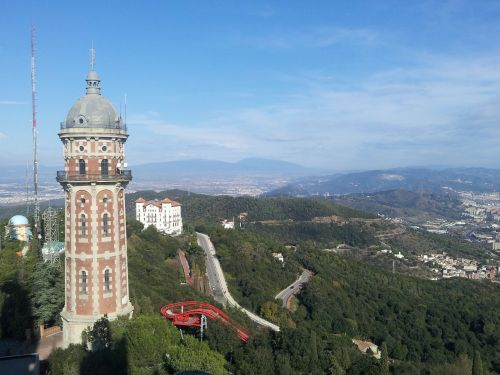 barcelona tibidabo city