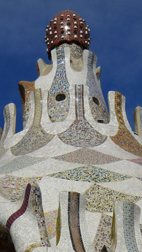 barcelona mosaic effect