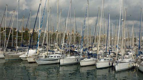 barcelona marina catalonia