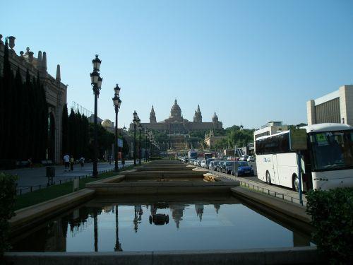 barcelona spain fontana