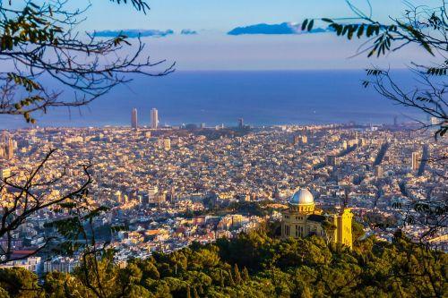 barcelona views catalonia