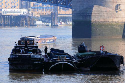 barges river refuse service