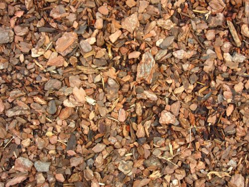 bark mulch ground snippets