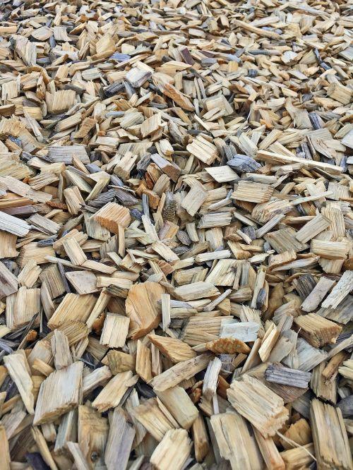 bark mulch background wood pieces