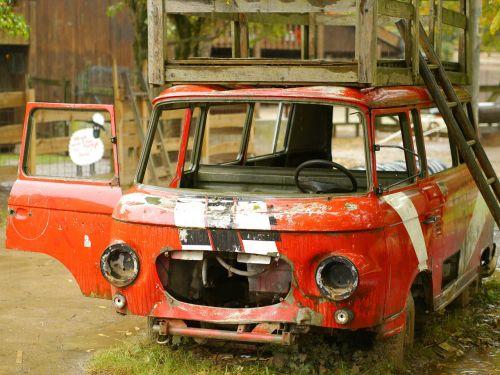 barkas minibus auto