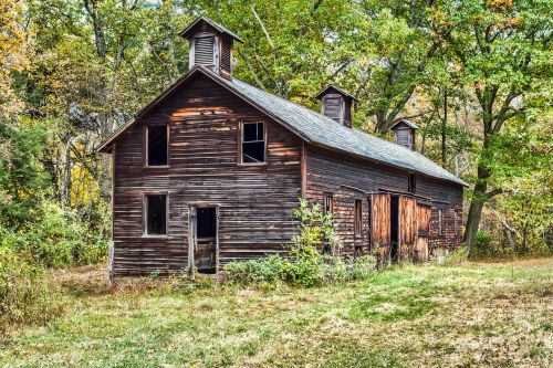 barn old rustic