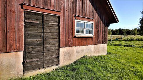 barn farmhouse stall