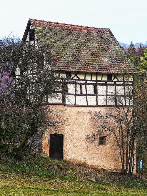 barn truss aussiedlerhof