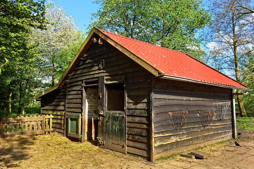 barn  stable  shed