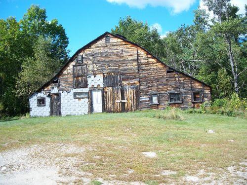 barn slightly used rustic