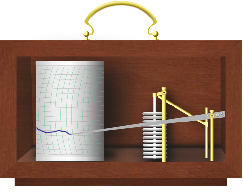 barograph weather instruments