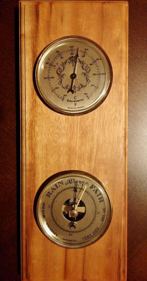 barometer meteorology thermometer