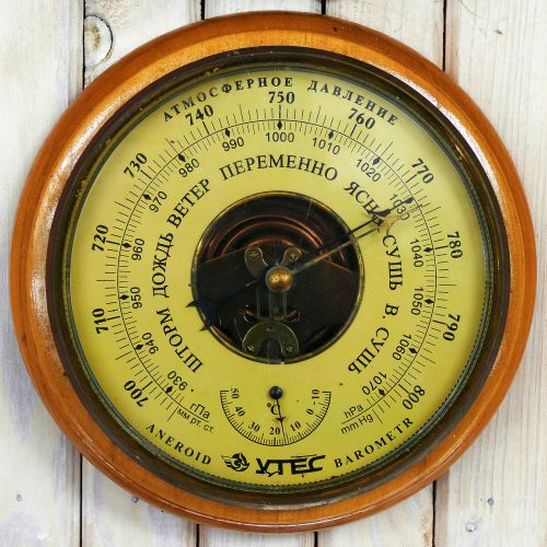 barometer thermometer russian
