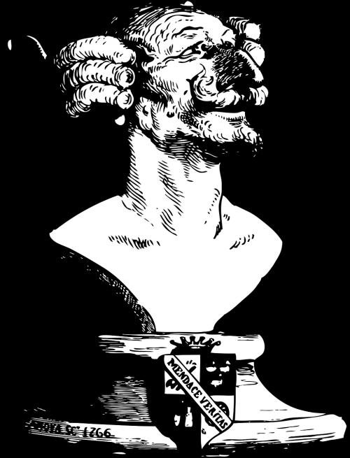 baron bust gustave doré
