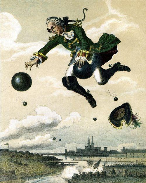 baron munchausen tall tales storyteller