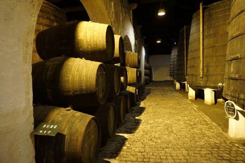 barrel basement wine
