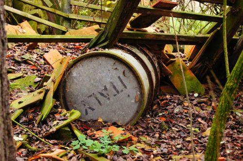 barrel old nature