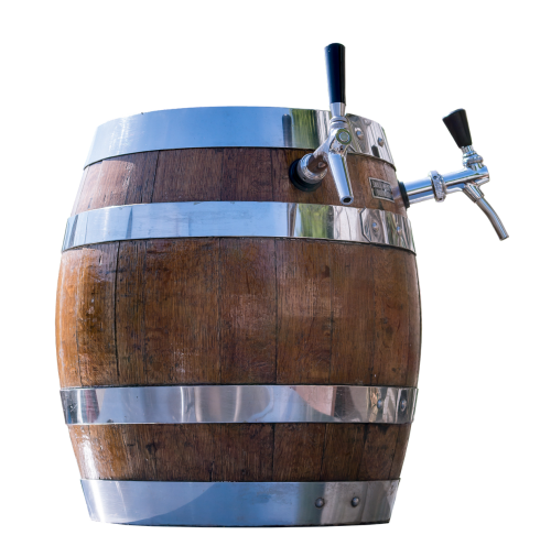 barrel beer dispensing line