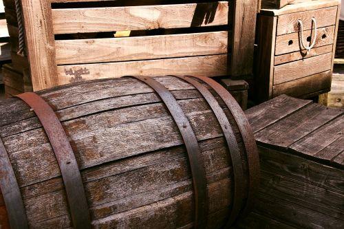 barrel wooden cask
