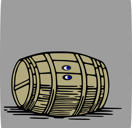 barrel wooden barrel wine