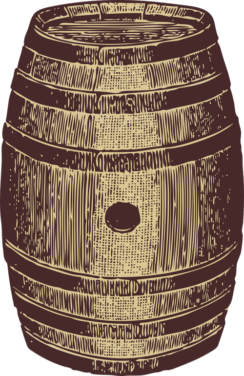 barrel oak storeage