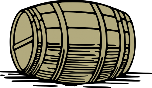 barrel wooden keg