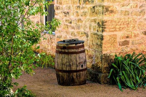 barrel  vintage  wood
