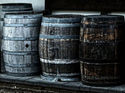 barrel kegs wooden