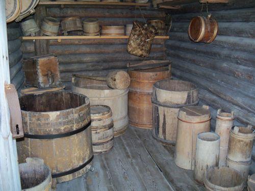 barrels store room an
