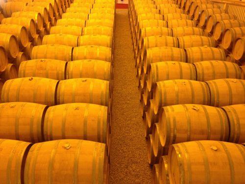 barrels golden whiskey