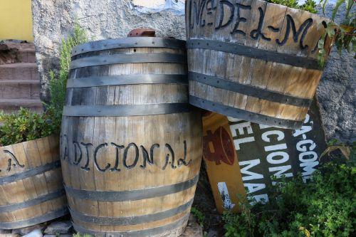 barrels la gomera canaria islands