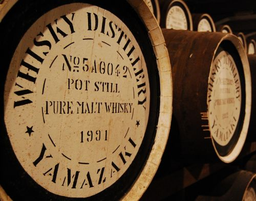 barrels storage whiskey