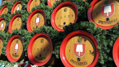 barrels beer keg beer