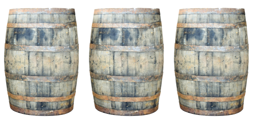 barrels whisky wooden barrels