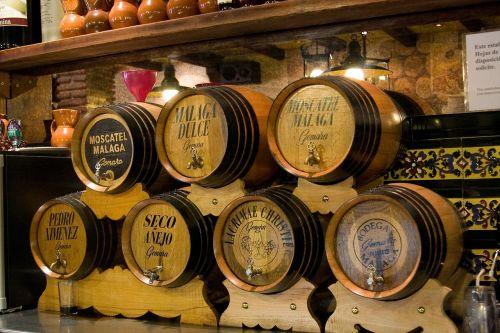 malaga spain barrels