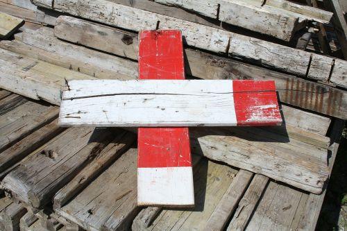 barjeras,battens,mediena,mediena,raudona,balta,ženklas,kita Šveicarija